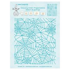 Leane Embossing Folder - Spider's Web