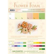 Leane Flower Foam - Assortment Set 3