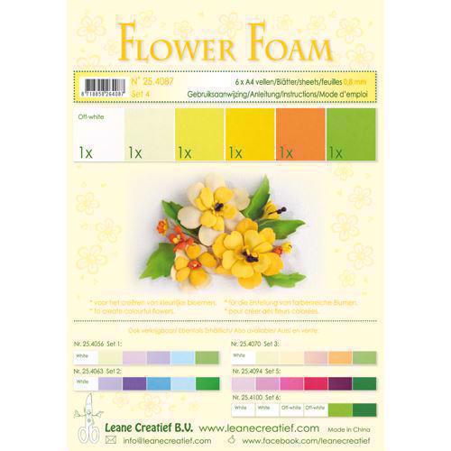 Leane Flower Foam - Assortment Set 4