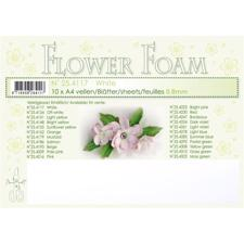 Leane Flower Foam - White