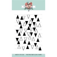 Neat & Tangled Clear Stamp - Tiny Triangles