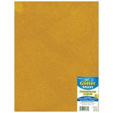 Glitter Foamie Sheet - Gold