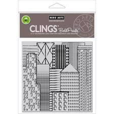 Hero Arts Cling Stamp - Bold Prints / Abstract Skyline