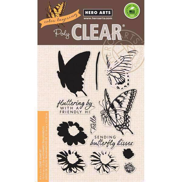 Hero Arts Clear Stamp Set - Swallowtail