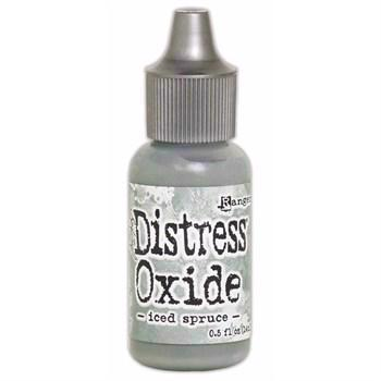 Distress OXIDE Re-Inker - Iced Spruce (flaske)