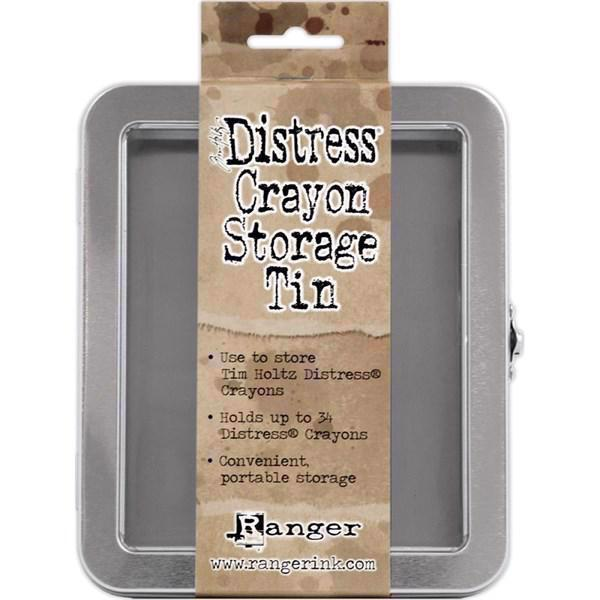 Tim Holtz Distress Crayons Storage Tin (opbevaring til CRAYONS)