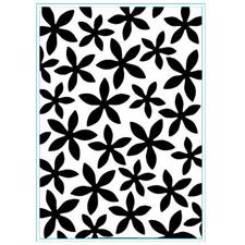 Elizabeth Crafts Embossing Folder - Petal Power