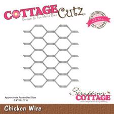 Cottage Cutz  Die - Chicken Wire