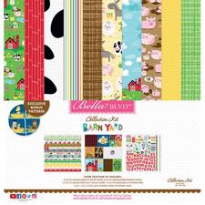 "Bella Blvd Collection Kit 12x12"" - Barnyard"