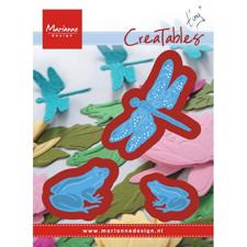 Marianne Design Creatables - Tiny's Frogs and Dragonfly