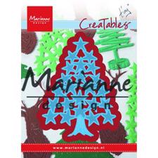 Marianne Design Creatables - Tiny's Christmas Tree With Stars