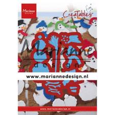 Marianne Design Creatables - Tiny's Frosty Snowmen