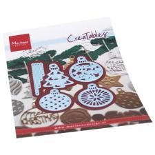 Marianne Design Creatables - Merry Christmas Baubles