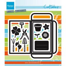 Marianne Design Craftables - Seed Pocket & Garden Tools