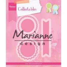 Marianne Design Collectables - Rosettes & Labels
