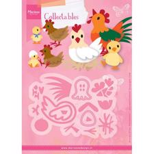 Marianne Design Collectables - Eline's Chicken Family