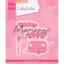 Marianne Design Collectables - Village Decoration set 3 (cars)