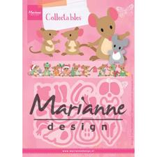 Marianne Design Collectables - Eline's Mice Family