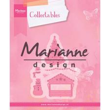 Marianne Design Collectables - Eline's Village Decoration set 5