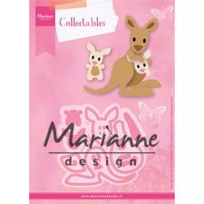 Marianne Design Collectables - Eline's Kangaroo & Baby