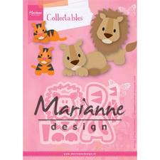 Marianne Design Collectables - Eline's Lion / Tiger