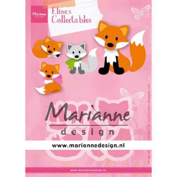 Marianne Design Collectables - Eline\'s Cute Fox