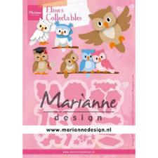 Marianne Design Collectables - Eline's Owl