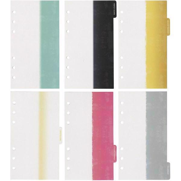 Webster\'s Pages - Color Crush Divider Set (faneblade) / Dip Dye