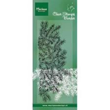 Marianne Design Clear Stamp  - Tiny's Border / Pine Tree Branches