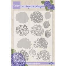 Marianne Design Clear Stamp  - Layering / Tiny's Hydrangea