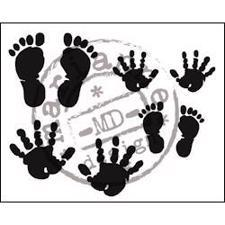 Clear Stamp  - Marianne Design / Baby Hands & Feet