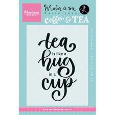 Marianne Design Clear Stamp - Tea is Like a Hug