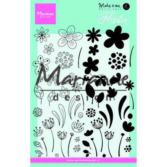 Marianne Design Clear Stamp  - Floralia (blomster)