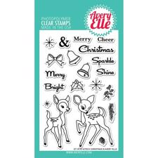 Avery Elle Clear Stamp - Kitsch Christmas