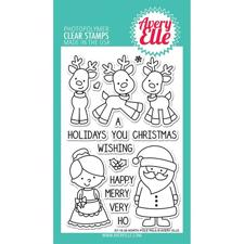 Avery Elle Clear Stamp - North Pole