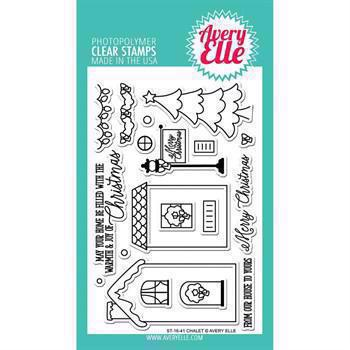 Avery Elle Clear Stamp - Chalet