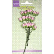 Marianne Design Paper Flowers - Rosebuds / Light Pink