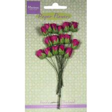 Marianne Design Paper Flowers - Rosebuds / Medium Pink