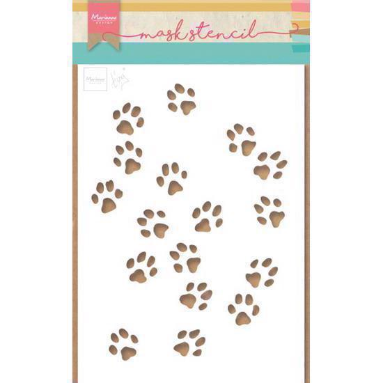Marianne Design STENCIL - Tiny\'s Cat Paws (A5)