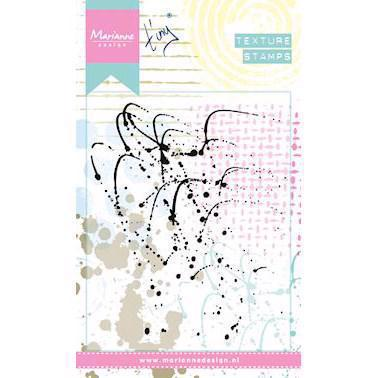 Marianne Design Clear Stamp  - Mixed Media Textures / Splatters