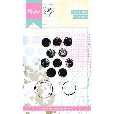 Marianne Design Clear Stamp  - Mixed Media Textures / Dots