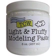 The Crafters Workshop - Light And Fluffy Modeling Paste