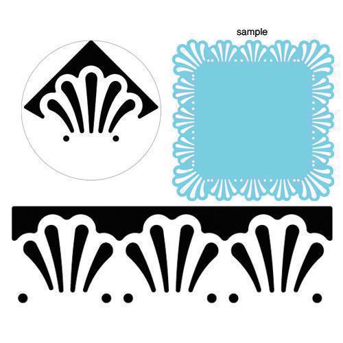 Martha Stewart Around-The-Page Punch - Deco Fan
