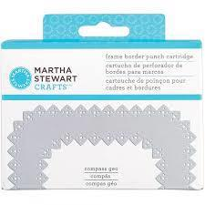 Martha Stewart FRAME Border Punch - Extra Cartridge / Compass Geo