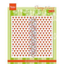Marianne Design Embossing Folder - Triangles (inkl. die)