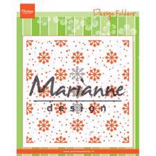 Marianne Design Embossing Folder - Snow and Ice Crystals (inkl. die)