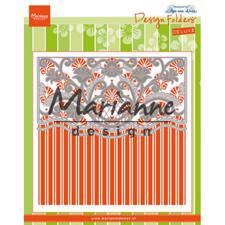 Marianne Design Embossing Folder + Die - Anja's Ornamental Border