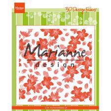 "Marianne Design Embossing Folder 6x6"" - Blossom"