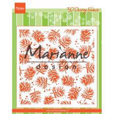 Marianne Design Embossing Folder 14x14 cm - Pine