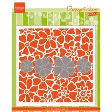 Marianne Design Embossing Folder - Poppies (inkl. die)